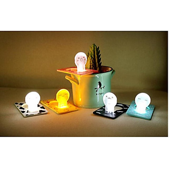 Cartoon Creative Card Lamp 1pc