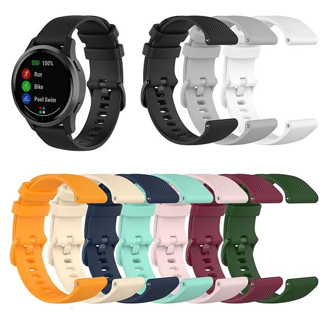 Watch Band for Huawei Fit / Huawei Honor S1 / Huawei B5 Huawei Classic Buckle Silicone Wrist Strap