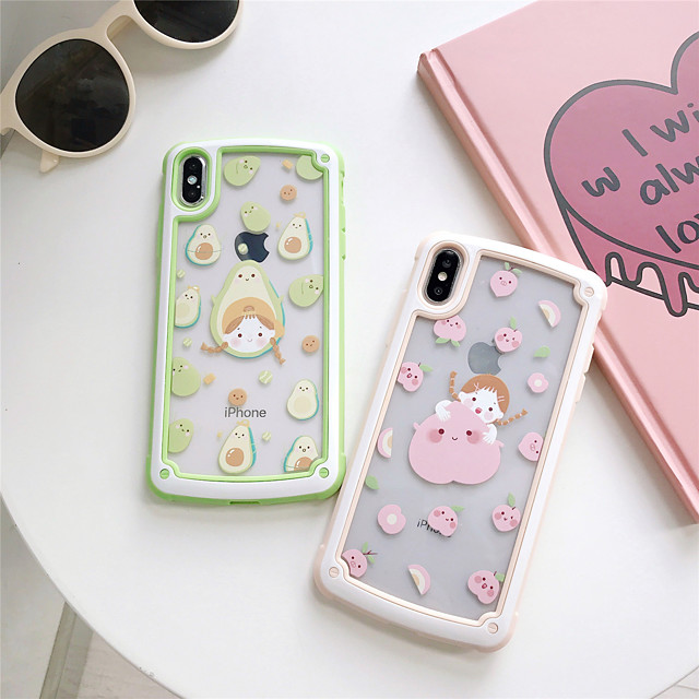 Case For Apple iPhone 11 / iPhone 11 Pro / iPhone 11 Pro Max Shockproof / Pattern Back Cover Cartoon TPU