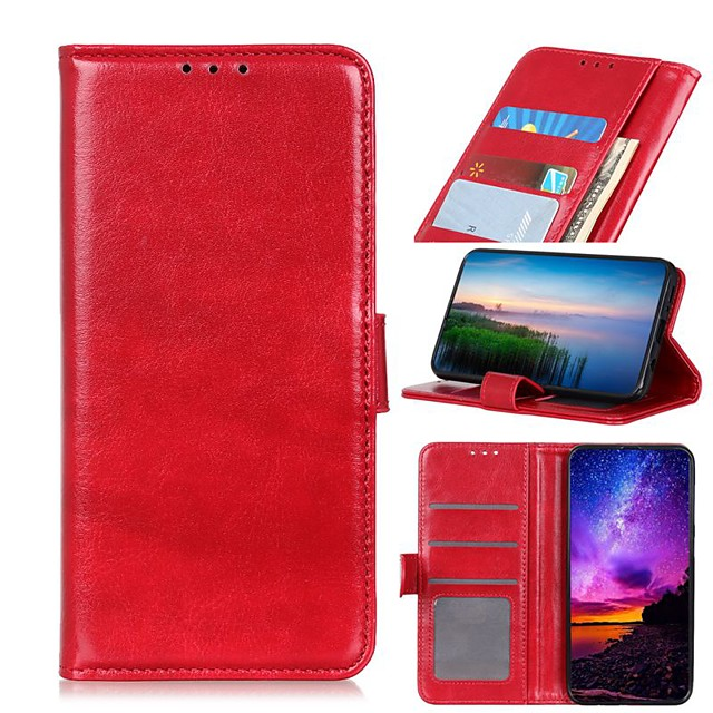 Case For LG K51 Stylo 6 K61 Wallet Card Holder with Stand Full Body Cases Solid Colored PU Leather Case For LG K41S K51S V60 ThinQ 5G G9 G8X ThinQ Q70 K50S K40S K30 K20(2019) W30 W10 Stylo 5 Q60 K50