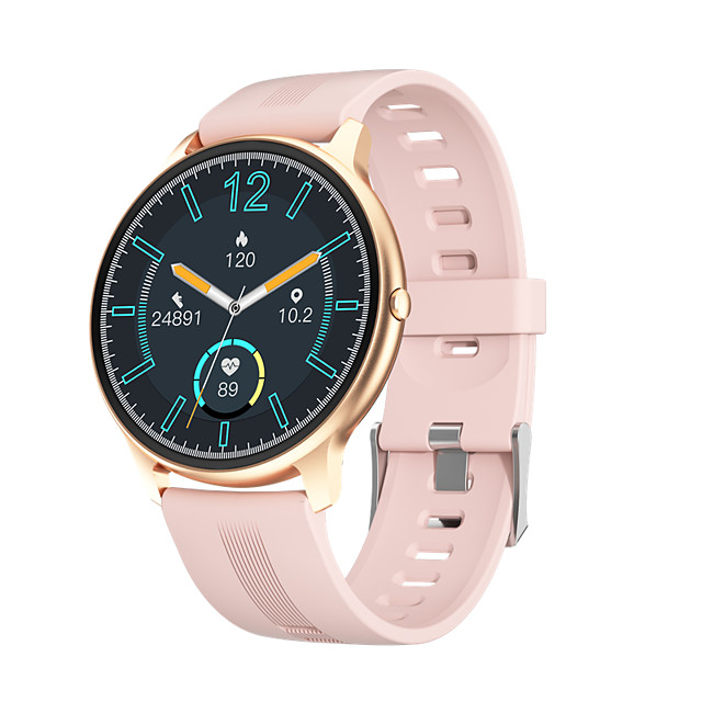 LW11 Smartwatch for Android/ IOS/ Samsung Phones, Bluetooth Fitness Tracker Support Heart Rate/ Blood Oxygen Measurement
