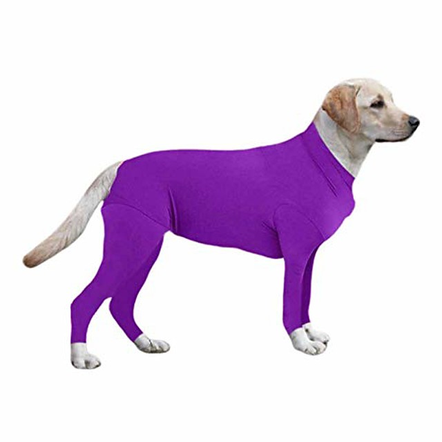 dog onesie/grooming, pet dog jumpsuit,pet dog recovery suit -reduce anxiety, replace medical cone