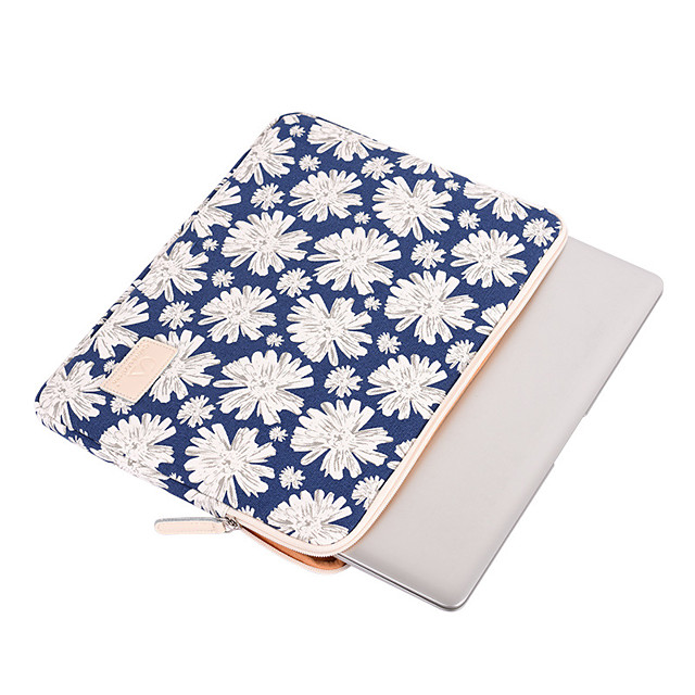 11.6 Inch Laptop / 12 Inch Laptop / 13.3 Inch Laptop Sleeve / Tablet Cases Polyester Floral / Printing for Men for Women for Business Office Waterpoof Shock Proof