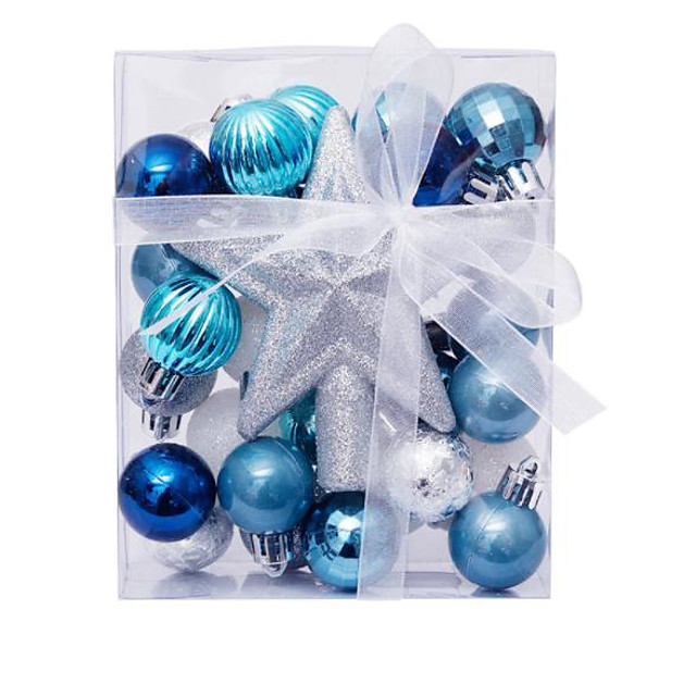 30 Pcs Christmas Balls Ornaments for Xmas Tree - Shatterproof Christmas Tree Decorations Hanging