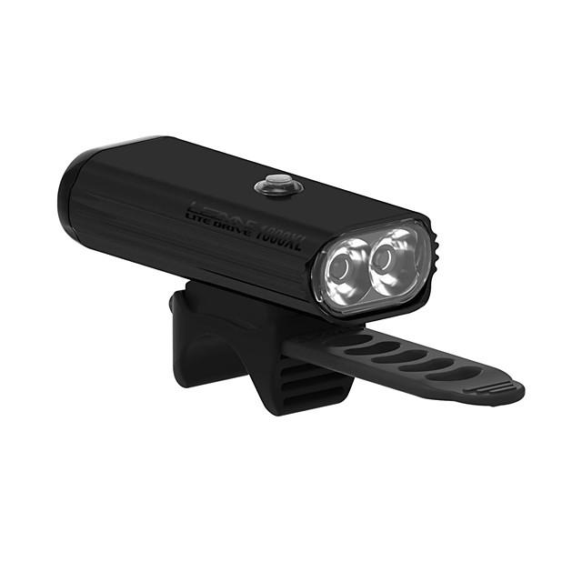lite drive 1000xl front cycling light, matte black
