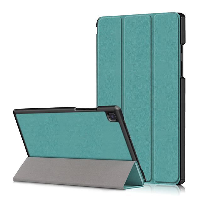 Case For Samsung Galaxy Tab S6 Lite (SM-P610 615) Shockproof Flip Full Body Cases Solid Colored PU Leather  PC
