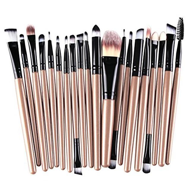 20-piece makeup brushes makeup brush set cosmetics foundation blending blush eyeliner concealer face powder brush