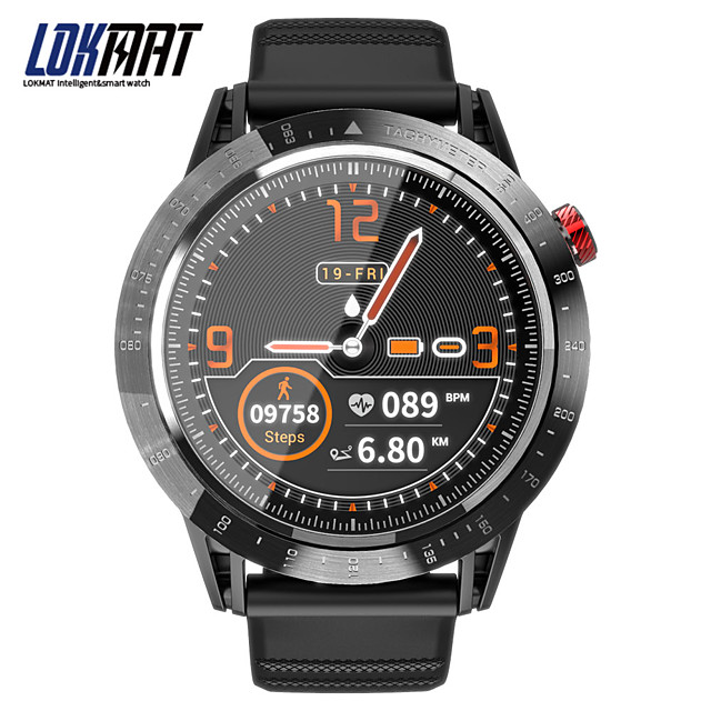 LOKMAT Bluetooth Fitness Tracker for Android/ IOS/ Samsung Phones, Long Battery-life Water-resistant Smartwatch