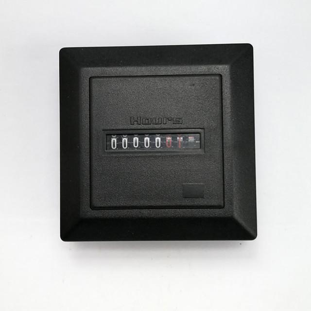Timer Square Counter Digital 0-99999.9 Hour Meter Hourmeter Gauge AC220-240V HM-1