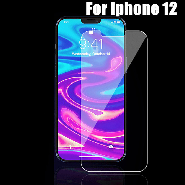 Phone Screen Protector Tempered Glass For iPhone 12 11 Pro Max 12 Mini Protective Films For iPhone 12 11 X XS MAX XR SE 2020 8 7 6 Plus 5 se Full Cover Screen Protector Tempered Glass