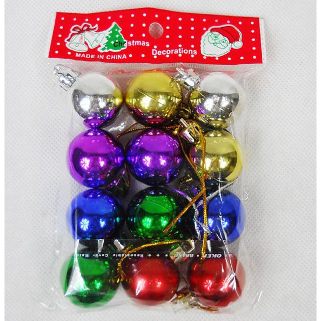 Christmas Pendant Ball 3cm 12pcs Christmas Decorations