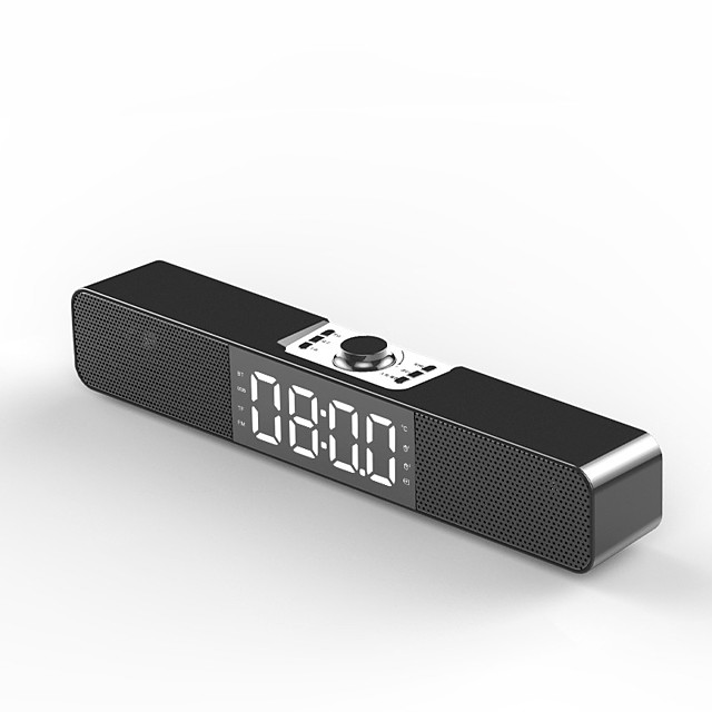 Home Alarm Desktop Computer Audio Multimedia Wireless Bluetooth Subwoofer Speaker Support FM TFCard Bass Box