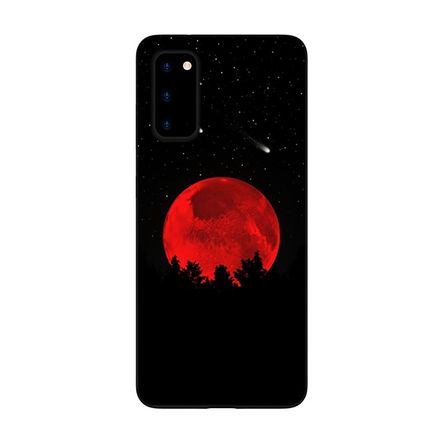 Case For Samsung Galaxy S20 FE Frosted Pattern Back Cover Scenery TPU Soft Galaxy S20 Plus Note 20 Ultra Note 10 Plus A11 A21S A31 A41 A51 A71 A81 A91