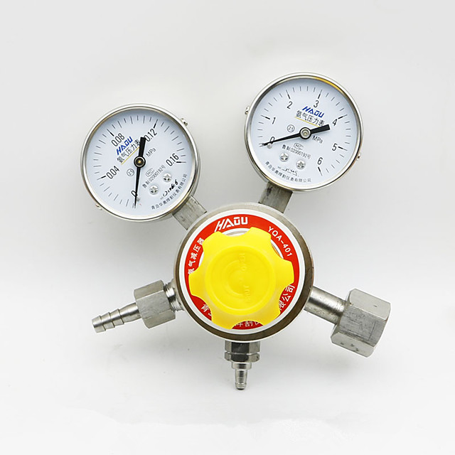 Pressure Regulator Ammonia Gas Analyzer Meter Pressure Reducer Pressure Reducing Valve G1/2 YQA-401 0-0.16MPa
