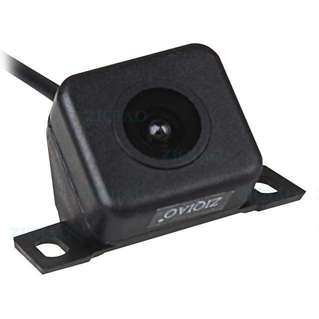ZIQIAO Car Reverse Rear View Camera Universal Waterproof Night Vision HD Parking Backup Camera HS007