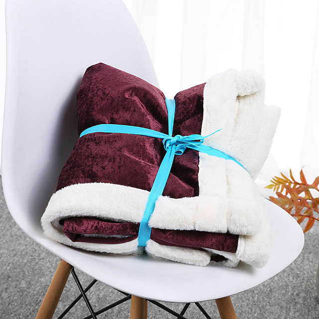 Comfort Luxury Faux Fur Throw Blanket - Ultra Soft and Fluffy - Plush Throw Blankets for Couch Bed and Living Room - Fall Winter and Spring