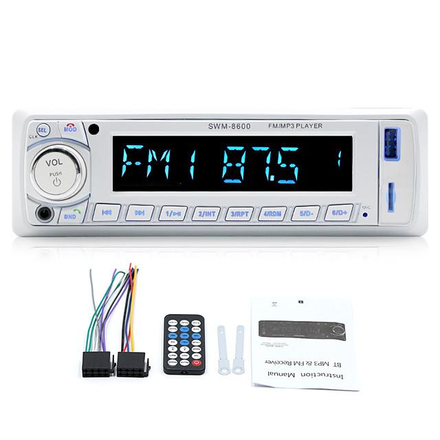 1 Din 8600 Autoradio Car Radio MP3 Player Bluetooth Hansfree SD USB AUX FM Remote Control 12V