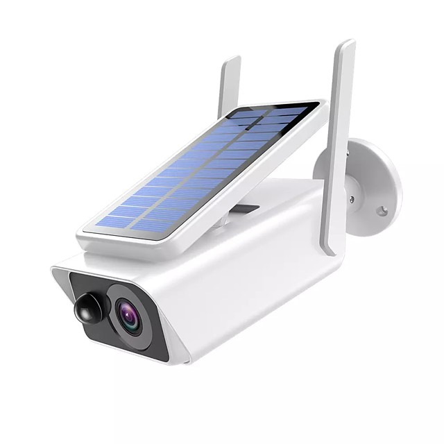 1080P Wireless Wifi Security Outdoor Low Power Solar Panel ICSEE Home Security Waterproof Night Vision WIFI CCTV Bullet Camera