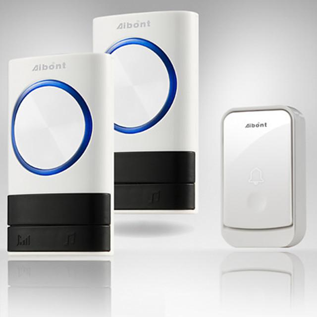 Q189189-WW Wireless One to Two Doorbell Hands-free / Music / Ding dong Waterproof / Intercom Indoor / Outdoor / Kitchen