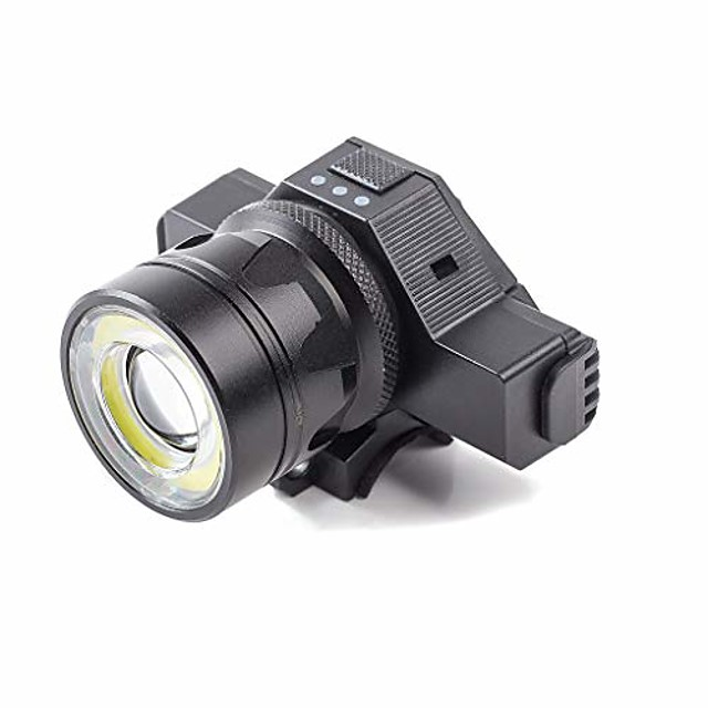 bicycle headlight, usb rechargeable led bike front light high bright mountain road cycling safety commuter flashlight waterproof bike light (black, a)