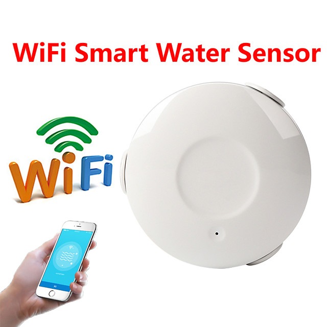 WS01 Water Sensor WIFI iOS / Android Platform WIFI for Home / Indoor