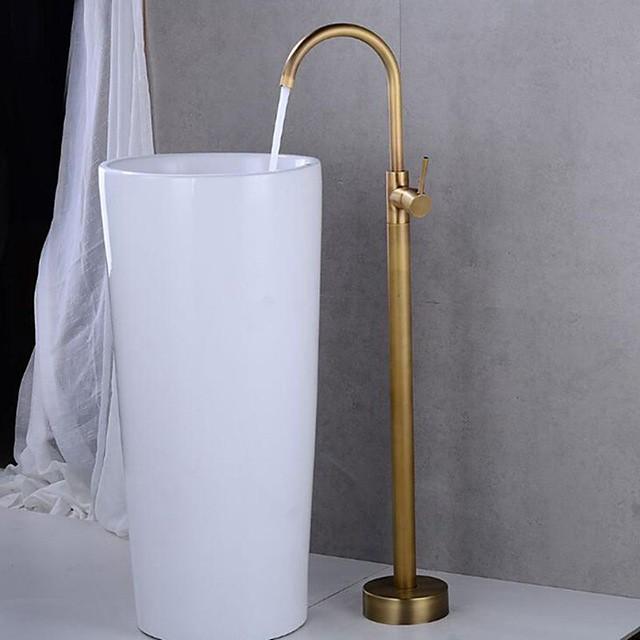 Bathtub Faucet - Contemporary Roman Tub Ceramic Valve Bath Shower Mixer Taps
