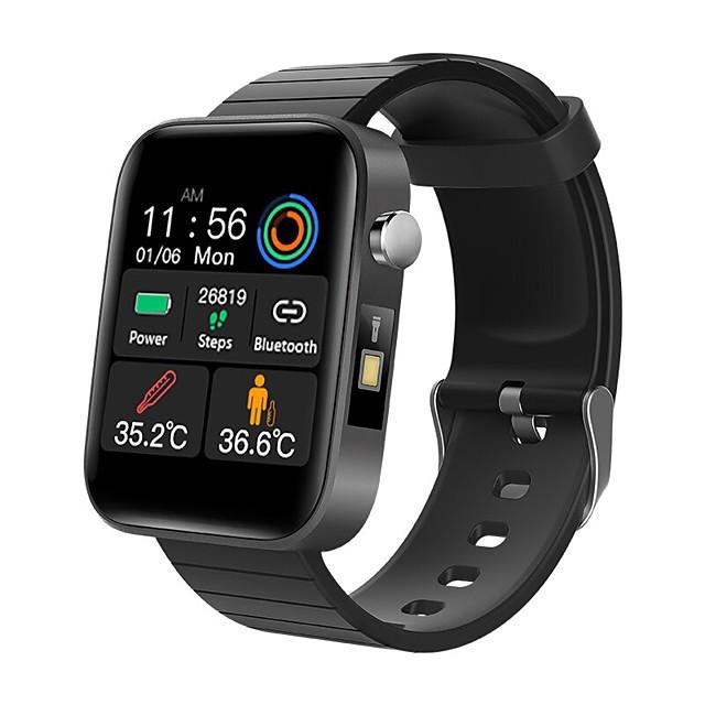 T68 Smart Watch Body Temperature Measurement Heart Rate Blood Pressure Oxygen Monitor Smart Bracelet Fitness Sports Watch
