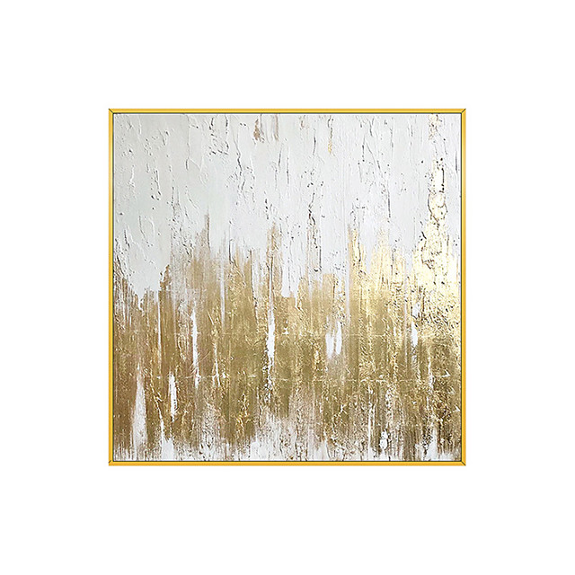 Oil Painting Hand Painted - Abstract Comtemporary Modern Rolled Canvas (No Frame)