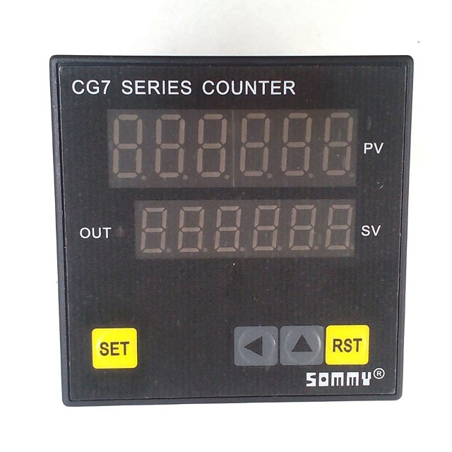 CG7-RB60 digital couters CG series Multi-function Counter 6-digit counting relay output