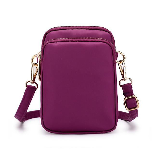 cell phone purse nylon mini crossbody bag smartphone wallet belt clip pouch