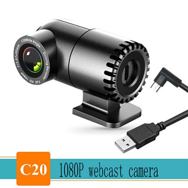 Webcam 1080P Full HD 1080P Web Camera Built-in Microphone USB Plug Auto Focus Web Cam For PC Computer Mac Laptop YouTube Camera