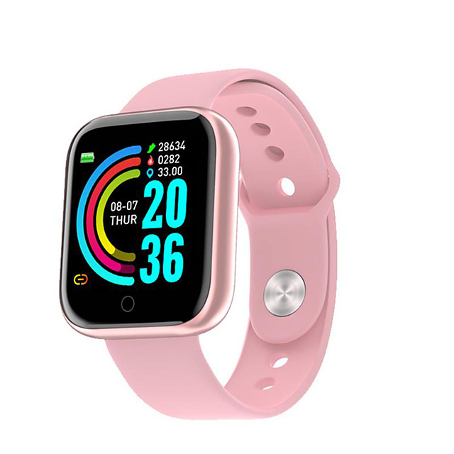Y68Smart Watch Bluetooth Blood Pressure Fitness Tracker Watches Heart Rate Monitor Smartwatch For Apple IOS Android
