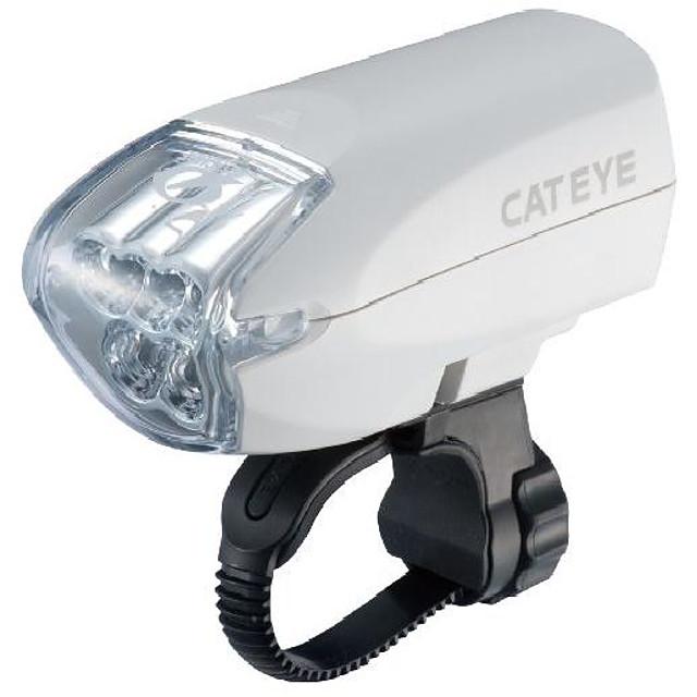 cateye hl-el220n bicycle head light (white)