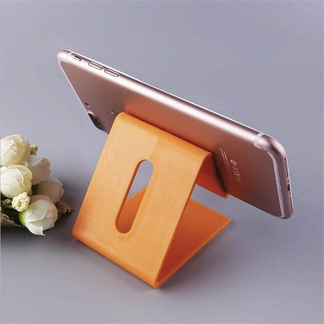 Desk Phone Holder triangle Mobile Stand For Cell phone Tablet Universal plastic Phone Stand Desktop Support