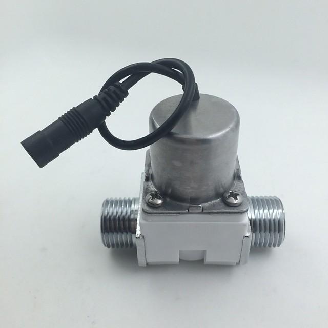 Pulsed Electromagnetic Valve Sensor Smart Faucet Urinal Sanitary Sensors Solenoid Valve DC4.5V-6.5V 0.02-1.0MPA G1/2 DN15