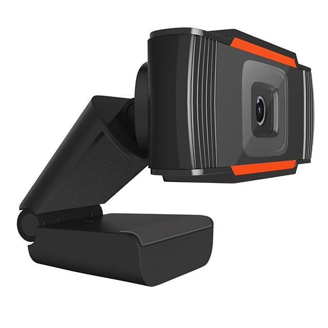 Webcam 720P Full HD Web Camera Built-in Microphone Rotatable USB Plug Web Cam For PC Computer Mac Laptop Desktop