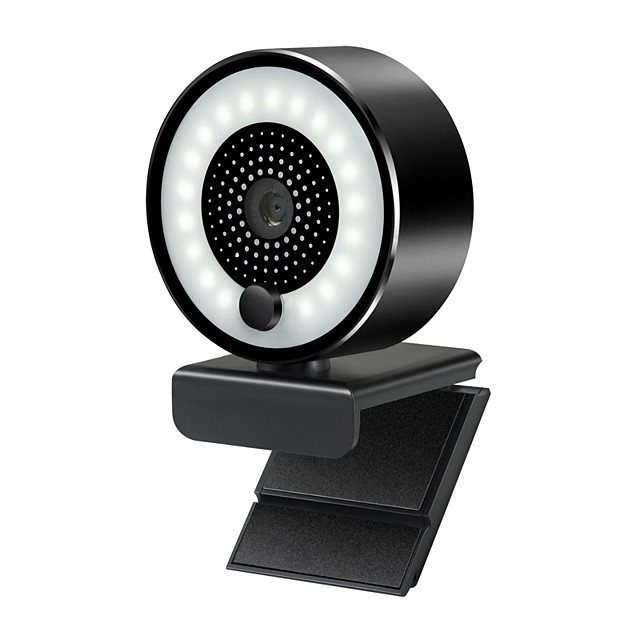 5.0MP Webcam With Microphone Full HD Video Web Cam Computer Peripheral USB Web Camera for Youtube PC Laptop Live Video