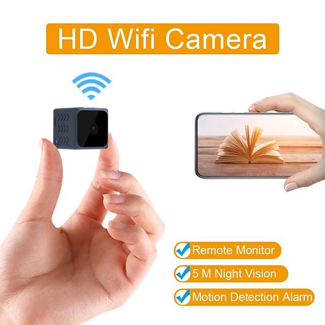Mini Wifi Camera Home Security Camera Wifi Night Vision 1080p Wireless Surveillance Camera Phone Application Remote Monitoring