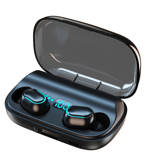 T11 Earphones Bluetooth Headset TWS Wireless Headset BT 5.0 Earbuds With Mobile Power Charging Compartment Power Digital Display