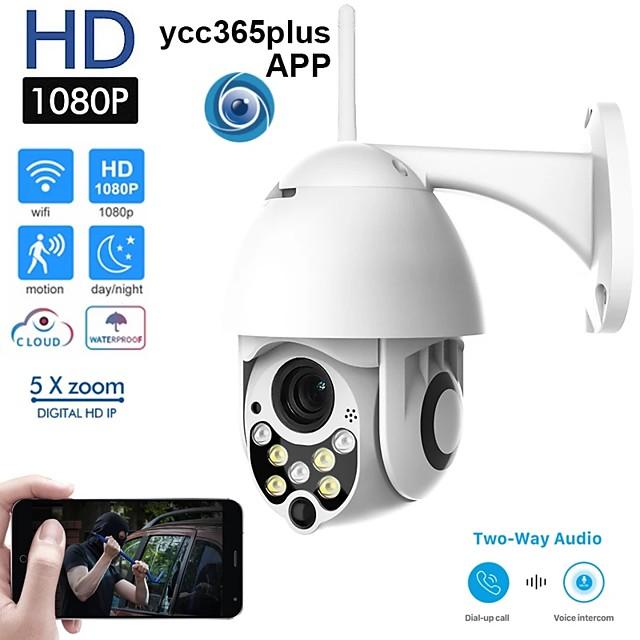 WIFI Camera Outdoor PTZ IP Camera H.265 1080p Speed Dome CCTV Security Cameras IP Camera WIFI Exterior 2MP IR Home