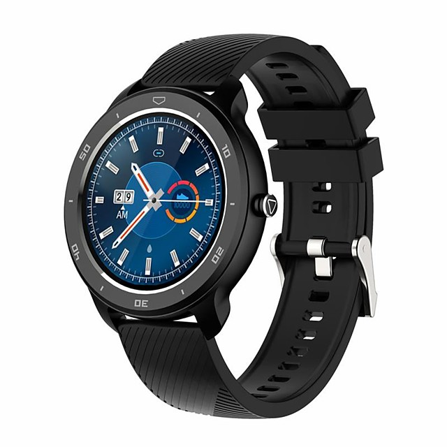 RC02 Smart Watch 1.3inch Fashion Full Touch Screen Smartwatch Heart Rate Blood Pressure Oxygen Monitor bluetooth Sport Watchs