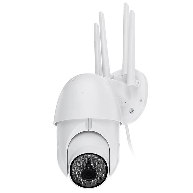 79 LED 2.0MP 1080P WiFi IP Camera Full Color Night Vision Pan/Tilt Rotation ONVIF IP66 Waterproof