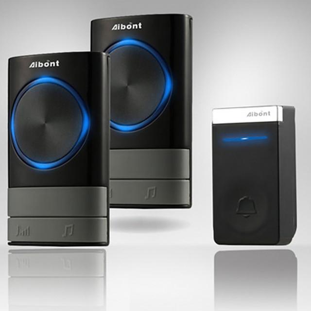N189189-BB Wireless One to Two Doorbell Hands-free / Music / Ding dong Waterproof / Intercom Indoor / Outdoor / Living Room / Dining Room