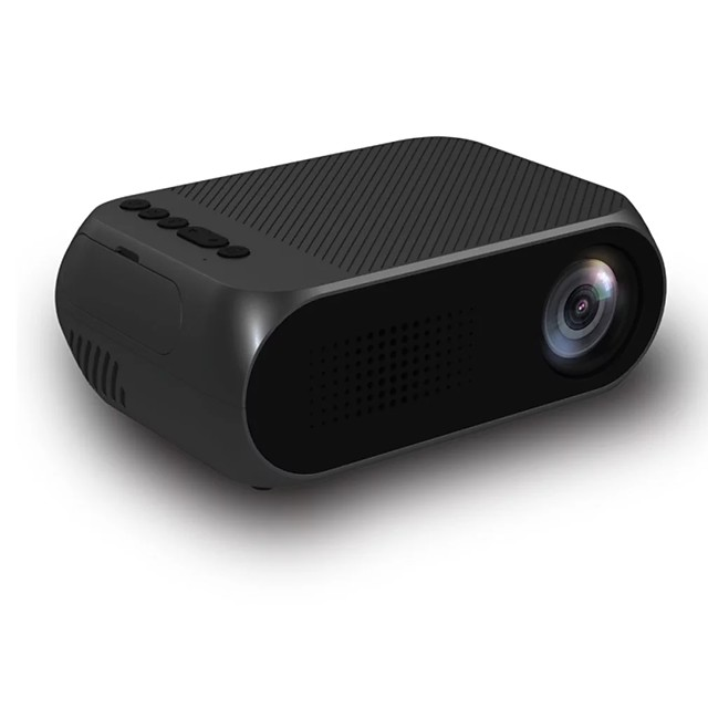 YG320 Home Mini Projector Desktop Forward Cast Video Home theater Support Multi-Languauge 1080P Home Theater Full HD Projector
