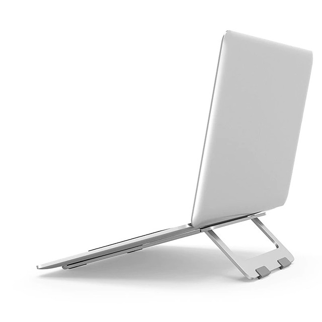Foldable Laptop Stand Macbook Pro Aluminum Adjustable Desktop Tablet Holder Desk Table Mobile Phone Stand For iPad2020Air Notebook