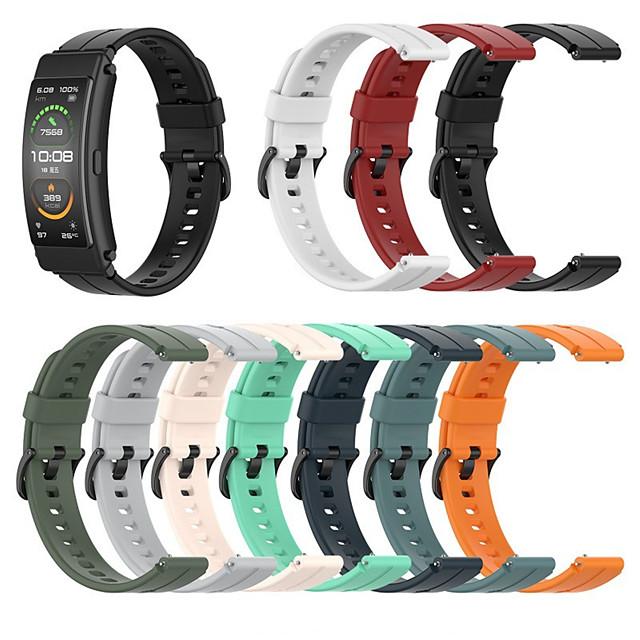 Watch Band for Huawei B3 / Huawei BandB6 Huawei Sport Band Silicone Wrist Strap