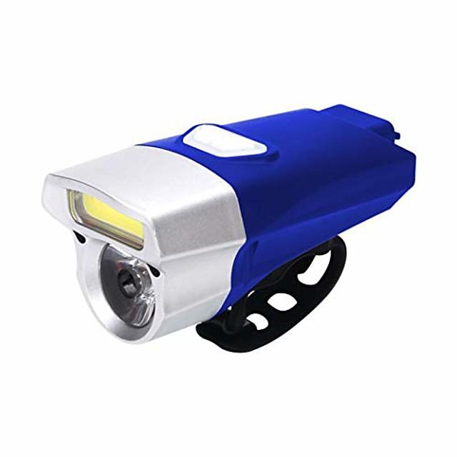bicycle headlights waterproof rechargeable bike cob bright lights headlights