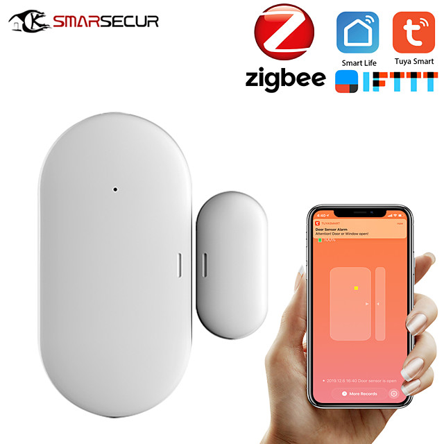 ZB-DWC-3 Plastics Intelligent Lock Smart Home Security iOS / Android System Anti-prizing function Home / Office / Apartment / Villa Security Door / Wooden Door / Glass Door (Unlocking Mode