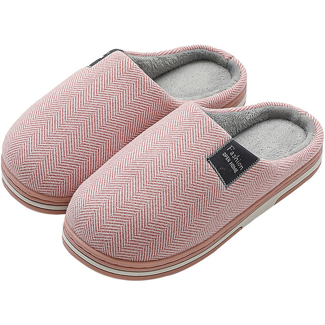 Women's Slippers / Men's Slippers House Slippers Casual Fabric Shoes