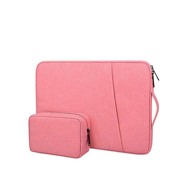Unisex Bags Polyester Top Handle Bag 2 Pieces Purse Set Zipper Office & Career Handbags Black Blushing Pink Dark Gray Navy Blue